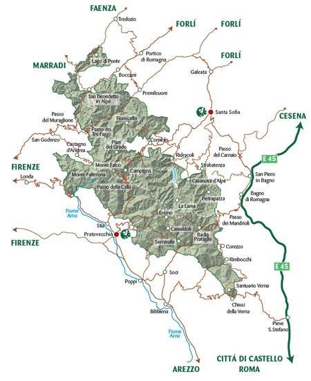 Il Parco Nazionale Foreste Casentinesi