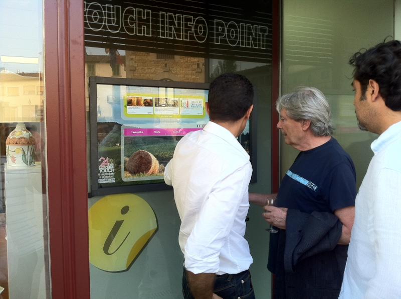 Info Point Turistici in Toscana