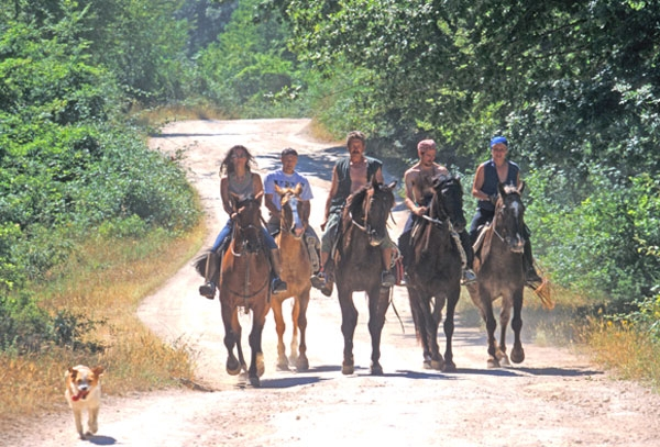 Horseriding vacations in Tuscany