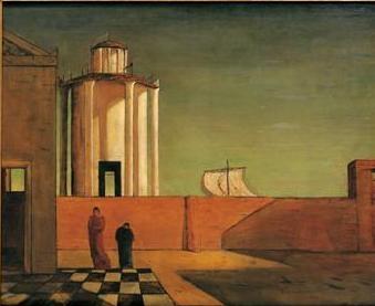 De Chirico, Max Ernst, Magritte e Balthus. Uno sguardo nell'invisibile